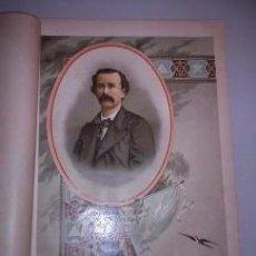 Arte: BELLA CROMOLITOGRAFÍA (C. 1890) - CUBA - RETRATO DE JUAN CLEMENTE ZENEA - 32X23. Lote 43923037