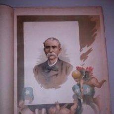 Arte: BELLA CROMOLITOGRAFÍA (C. 1890) - CUBA - RETRATO DE MAXIMO GOMEZ - 32X23. Lote 43923160