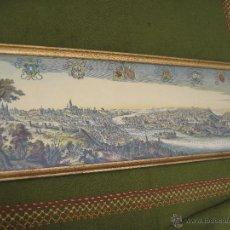 Arte: LAMINA EN COLOR ENMARCADA Y CON CRISTAL. PRAGA.. Lote 44071492