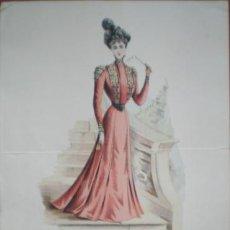Arte: JOURNAL DES DEMOISELLES. MODES DE PARIS. 15 MARS 1900.. Lote 45093016