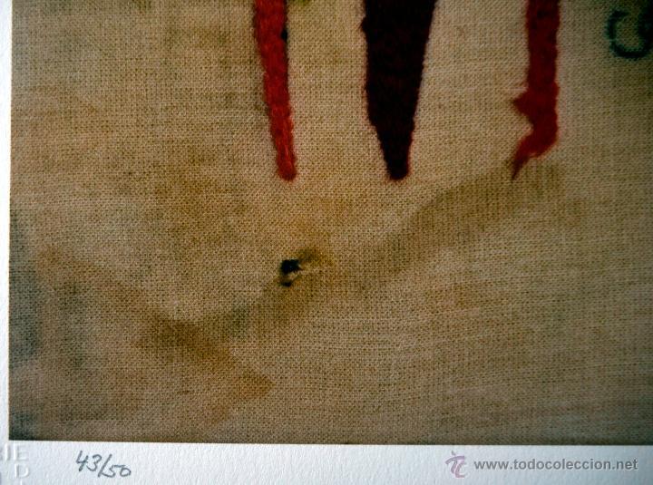 Arte: SPOERRI, D. (1930-). AVES DEL PARAISO. FIRMADA. NUMERADA 43/50. - Foto 3 - 45767586