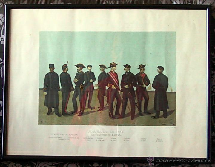 CROMOLITOGRAFÍA PINT. ENRIQUE DE SORIA SANTA CRUZ -1884 (Arte - Cromolitografía)
