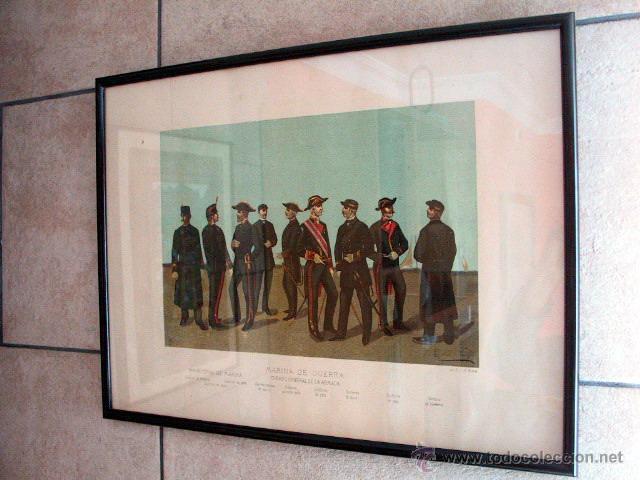 Arte: Cromolitografía pint. Enrique de Soria Santa Cruz -1884 - Foto 2 - 47425515