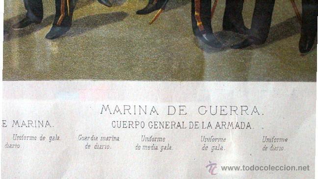 Arte: Cromolitografía pint. Enrique de Soria Santa Cruz -1884 - Foto 4 - 47425515