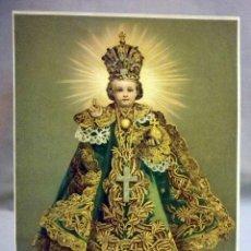 Arte: RARA CROMOLITOGRAFIA, NIÑO JESUS DE PRAGA, Nº 7298, 26 X 19 CM. Lote 47584159