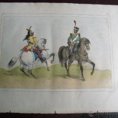 Arte: 1851 SOLDADOS DE CABALLERIA DE LINEA Y LIGERA. Lote 48582166