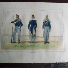 Arte: 1851 CAPITAN GRANADERO Y CAZADOR EN 1846. Lote 48582229