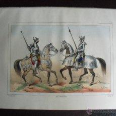 Arte: 1852 HOMBRE DE ARMAS Y ESCOPETERO HISTORIA DE LAS ARMAS DEL CONDE DE CLONARD. Lote 48616039