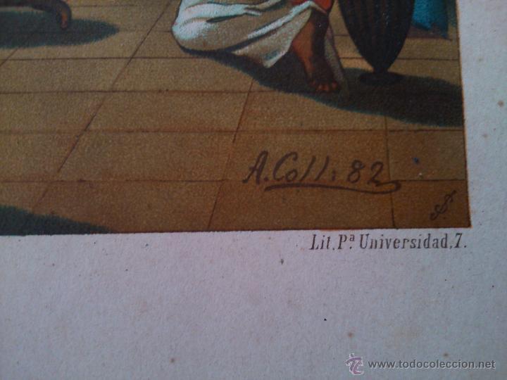 Arte: * ANTIGUAS CROMOLITOGRAFIAS - Foto 3 - 50033135