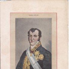 Arte: FERNANDO VII, POR PABLO BÉJAR. 28 X 19,5 CM. 1902. HISTORIA DE ESPAÑA. Lote 51054607