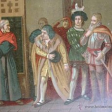 Arte: Y SI NO OS PARECEN SUFICIENTES GOBERNARE CON ESOS .CROMOLITOGRAFIA DE 14X10.SOBRE 1830-40. Lote 51557020