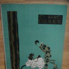 Art: LES DANSES D'AUJOUR D'HUI - CROMOLITOGRAFIAS DE PIERRE MOURGE - AÑO 1923 - RESERVADO. Lote 51984593