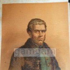 Arte: D. JERONIMO MERINO ( VILLOVIADO ),COMBATIENTE CARLISTA (EL CURA MERINO) CROMOLITOGRAFIA DEL AÑO 1889. Lote 53633730