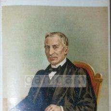 Arte: JUAN ANTONIO ZARATIEGUI ,SECRETARIO DE ZUMALACARREGUI -1ª GUERRA CARLISTA (CROMOLITOGRAFIA AÑO 1890). Lote 53635671