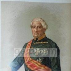 Arte: MARCELINO ORAA DE BERIAIN ( NAVARRA ) - 1ª GUERRA CARLISTA (CROMOLITOGRAFIA DEL AÑO 1890). Lote 57496651