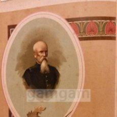 Arte: V.SABARIEGOS , CARLISMO (CROMOLITOGRAFIA AÑO1892). Lote 54211318