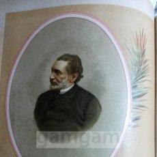 Arte: SAGASTA , CARLISMO , GUERRA CARLISTA (CROMOLITOGRAFIA AÑO1892). Lote 54211335