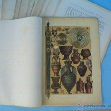 Arte: EDITORIAL MUNTANER Y SIMÓN. BARCELONA, 1881. 26 LÁMINAS IMPRESAS EN CROMOLITOGRAFÍA.. Lote 54362988