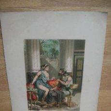 Arte: CROMOLITOGRAFIA - IMPRENTA DE VDA LABIELLE - BARCELONA. Lote 55352301
