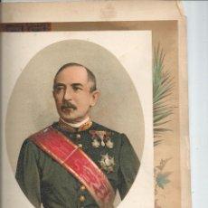 Arte: RETRATO DEL MARQUÉS DE LA HABANA CUBA - 32X23 CROMOLITOGRAFÍA (C. 1890). Lote 55809327