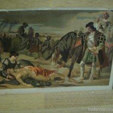 Arte: LOS DOS CAUDILLOS - LITOGRAFIA PALACIOS. Lote 57392387