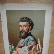 Art: ANDRES VESALI - ILUSTRACION DE ARNET - J.SEIX EDITOR. Lote 57392418