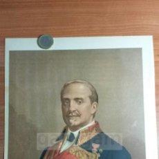 Arte: LEOPOLDO O´DONNEL ( TENERIFE 1809-1867 BIARRITZ ) 1ª GUERRA CARLISTA (CROMOLITOGRAFIA DEL AÑO 1890). Lote 57498015