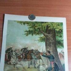 Arte: GENERAL PARDIÑAS ( SANTIAGO DE COMPOSTELA ) 1ª GUERRA CARLISTA (CROMOLITOGRAFIA DEL AÑO 1891). Lote 57498821