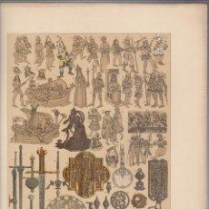 Arte: ESCANDINAVOS.CROMOLITOGRAFIA DE FINALES DEL SIGLO XIX.TAMAÑO: 33 X 24 CTMS.. Lote 57587869