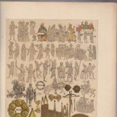 Arte: ESCANDINAVOS.CROMOLITOGRAFIA DE FINALES DEL SIGLO XIX.TAMAÑO: 33 X 24 CTMS.. Lote 57587877