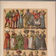 Arte: ALEMANES.CROMOLITOGRAFIA DE FINALES DEL SIGLO XIX.TAMAÑO: 33 X 24 CTMS.. Lote 57587998