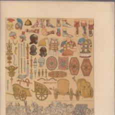 Arte: ROMANOS.CROMOLITOGRAFIA DE FINALES DEL SIGLO XIX.TAMAÑO: 33 X 24 CTMS.. Lote 57588116