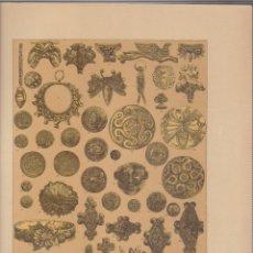 Arte: GRIEGOS.CROMOLITOGRAFIA DE FINALES DEL SIGLO XIX.TAMAÑO: 33 X 24 CTMS.. Lote 57588142