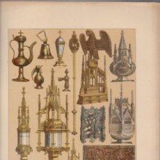 Arte: ALEMANES.CROMOLITOGRAFIA DE FINALES DEL SIGLO XIX.TAMAÑO: 33 X 24 CTMS.. Lote 57588153