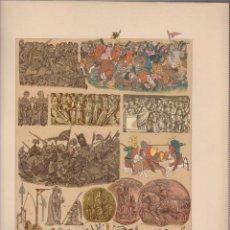 Arte: ALEMANES.CROMOLITOGRAFIA DE FINALES DEL SIGLO XIX.TAMAÑO: 33 X 24 CTMS.. Lote 57588158