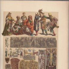 Arte: ALEMANES.CROMOLITOGRAFIA DE FINALES DEL SIGLO XIX.TAMAÑO: 33 X 24 CTMS.. Lote 57588179