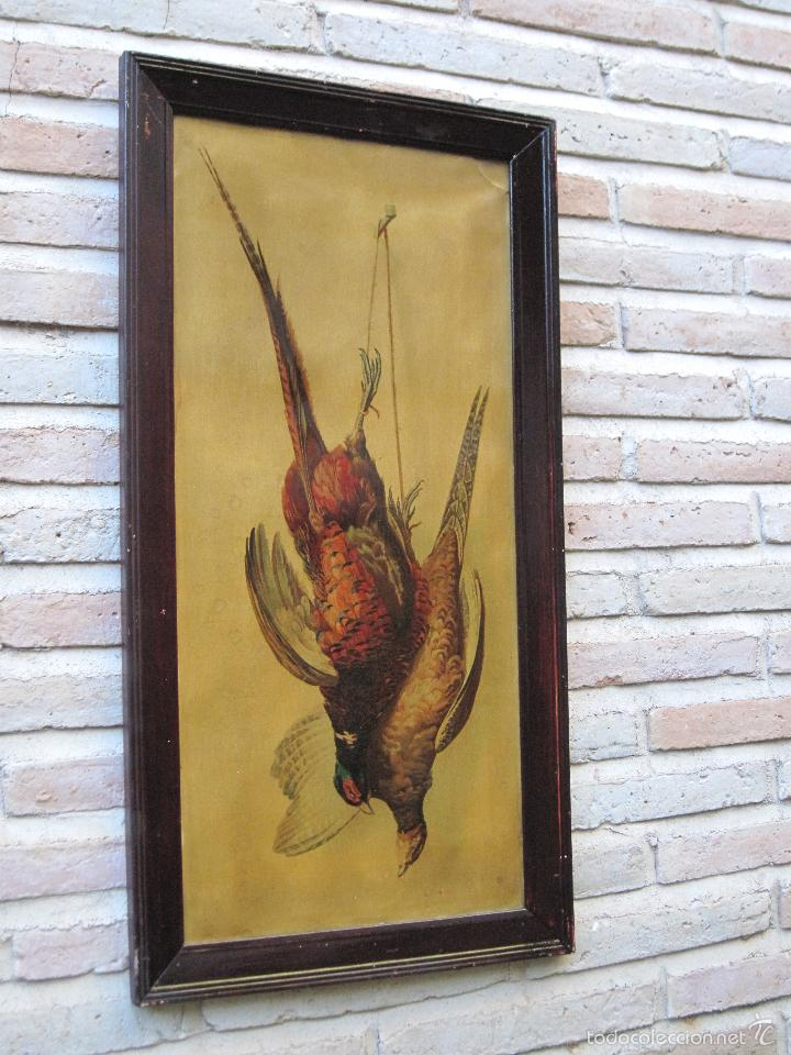 CROMOLITOGRAFIA ANTIGUA ENMARCADA - PPOS. SIGLO XX. (Arte - Cromolitografía)