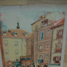 Arte: ESTAMPA MADRILEÑA - DIBUJO DE BRAÑEZ. Lote 58678389
