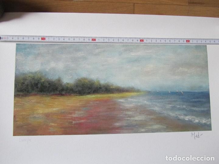 Arte: Milena Este Reproducción obra gráfica Verano Impresión digital firmada y numerada a lápiz 72/99 - Foto 3 - 62514796