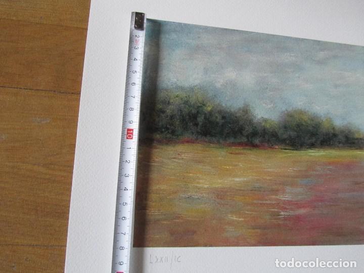 Arte: Milena Este Reproducción obra gráfica Verano Impresión digital firmada y numerada a lápiz 72/99 - Foto 4 - 62514796