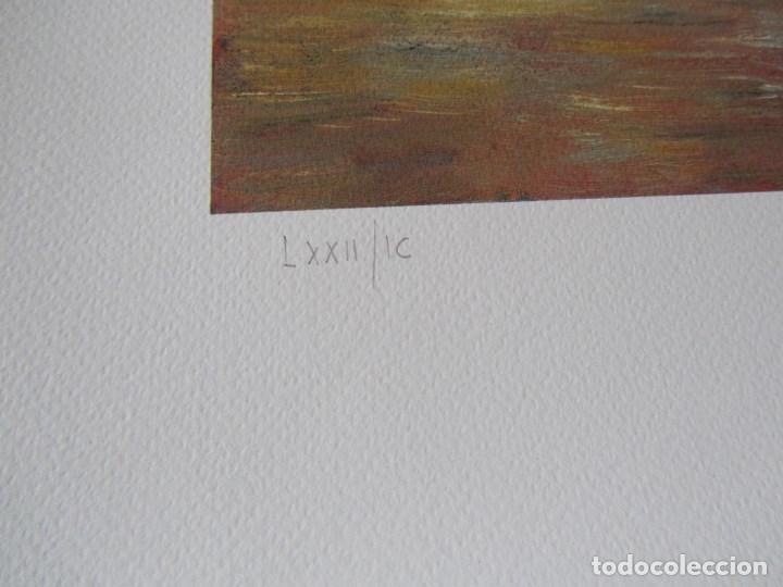 Arte: Milena Este Reproducción obra gráfica Verano Impresión digital firmada y numerada a lápiz 72/99 - Foto 5 - 62514796