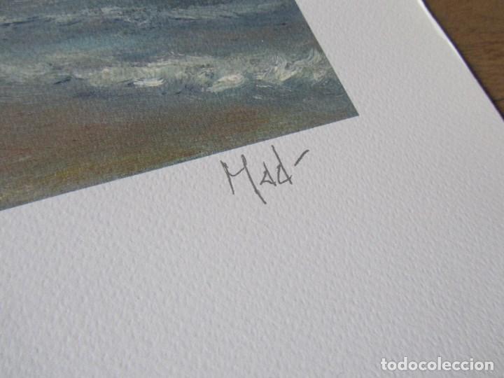 Arte: Milena Este Reproducción obra gráfica Verano Impresión digital firmada y numerada a lápiz 72/99 - Foto 6 - 62514796