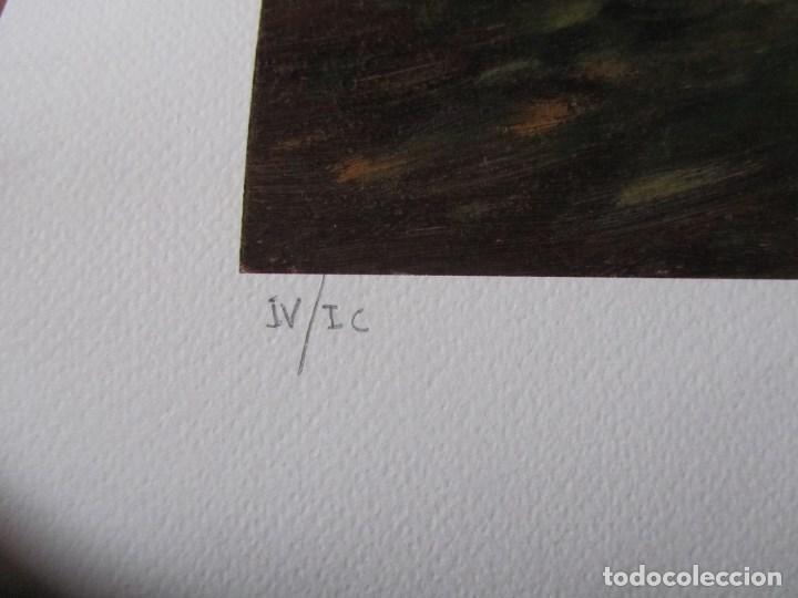 Arte: Milena Este Reproducción obra gráfica Primavera Impresión digital firmada y numerada a lápiz 4/99 - Foto 3 - 62514920