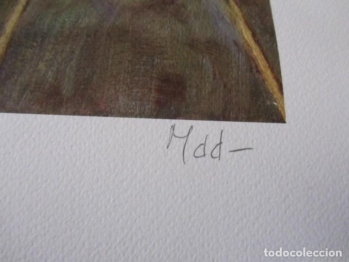 Arte: Milena Este Reproducción obra gráfica Primavera Impresión digital firmada y numerada a lápiz 4/99 - Foto 4 - 62514920