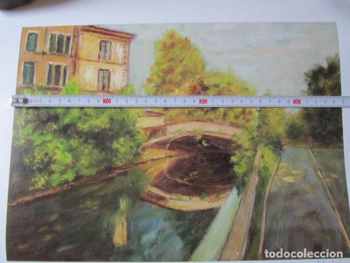 Arte: Milena Este Reproducción obra gráfica Primavera Impresión digital firmada y numerada a lápiz 4/99 - Foto 9 - 62514920