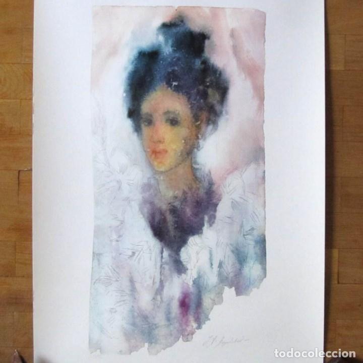 IRINA ANASTASIA BOGATCHEB REPRODUCCIÓN OBRA GRÁFICA IMPRESIÓN DIGITAL FIRMADA Y NUMERADA 12/99 (Arte - Cromolitografía)