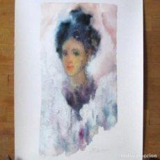 Arte: IRINA ANASTASIA BOGATCHEB REPRODUCCIÓN OBRA GRÁFICA IMPRESIÓN DIGITAL FIRMADA Y NUMERADA 12/99. Lote 62515352