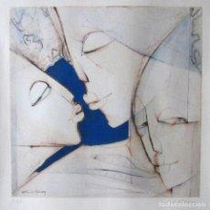 Arte: SILVANO VISMARA REPRODUCCIÓN OBRA GRÁFICA IMPRESIÓN DIGITAL FIRMADA Y NUMERADA LÁPIZ P.D.A.. Lote 62515756