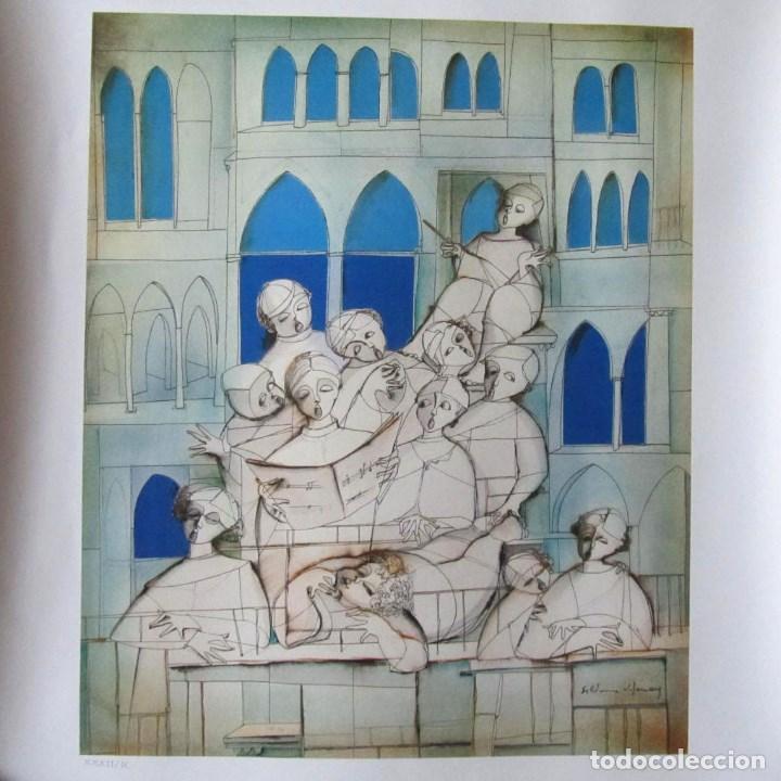 SILVANO VISMARA REPRODUCCIÓN OBRA GRÁFICA IMPRESIÓN DIGITAL FIRMADA Y NUMERADA LÁPIZ 32/99 (Arte - Cromolitografía)