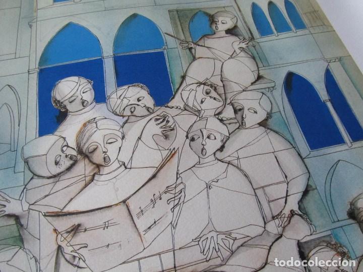 Arte: Silvano Vismara reproducción obra gráfica Impresión digital firmada y numerada lápiz 32/99 - Foto 5 - 62516432